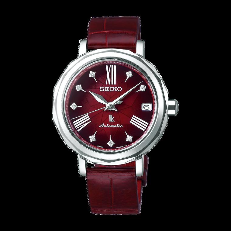 Seiko Lukia SPB135 Kurenai Red with Diamonds Automatic