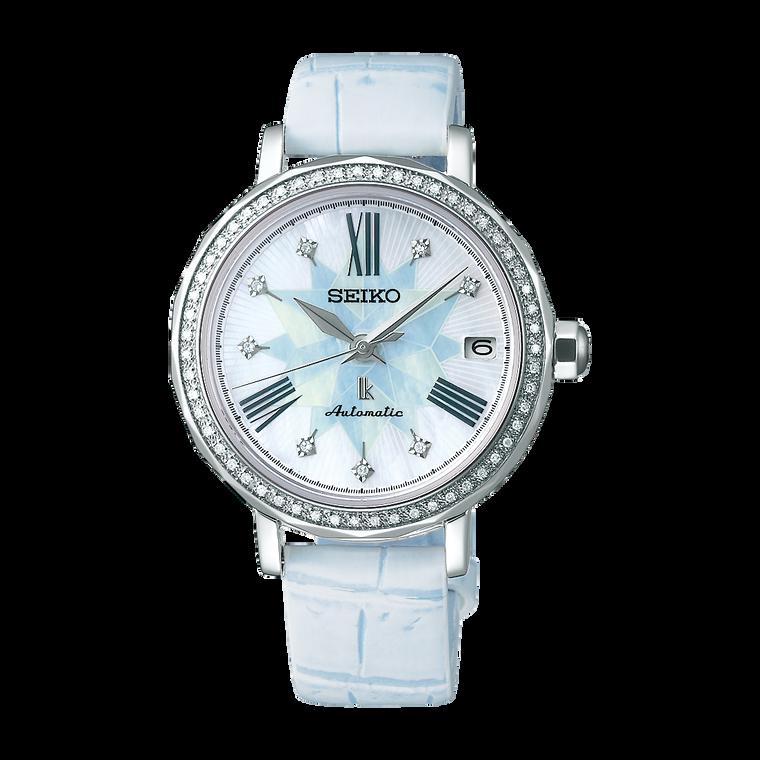 Seiko Lukia SPB141 Tsukishiro White with Diamonds Automatic