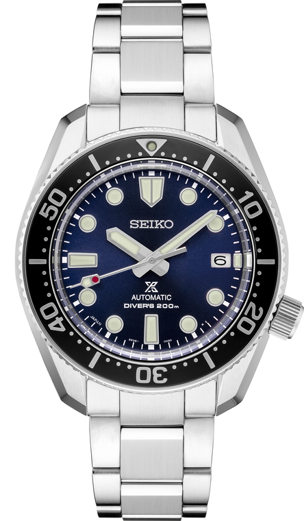 Seiko Prospex SPB187 Marine Master 200 Blue Dial Stainless