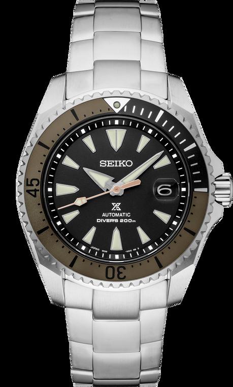 Seiko Prospex SPB189 Shogun Black Dial Titanium