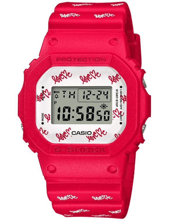 Casio G-Shock DW5600LH-4 Curtis Kulig Love Me Limited Edition