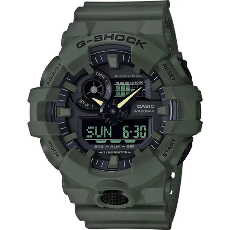 Casio G-Shock GA700UC-3A Utility Color Shock Resistant