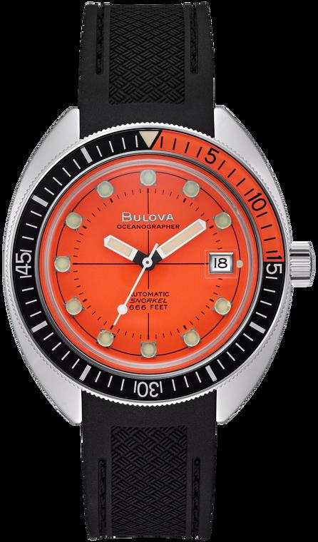 Bulova 96B350 Devil Diver Orange Dial