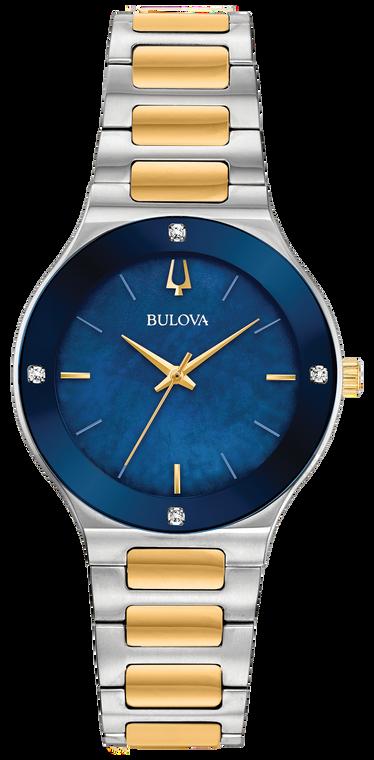 Bulova 98R273 Millenia Mother of Pearl Blue