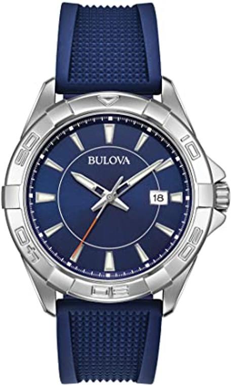 Bulova 96B298 Casual Sports Watch Silicone
