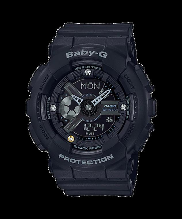 Casio G-Shock BA135DD-1A Baby G Ana-Digi Diamonds