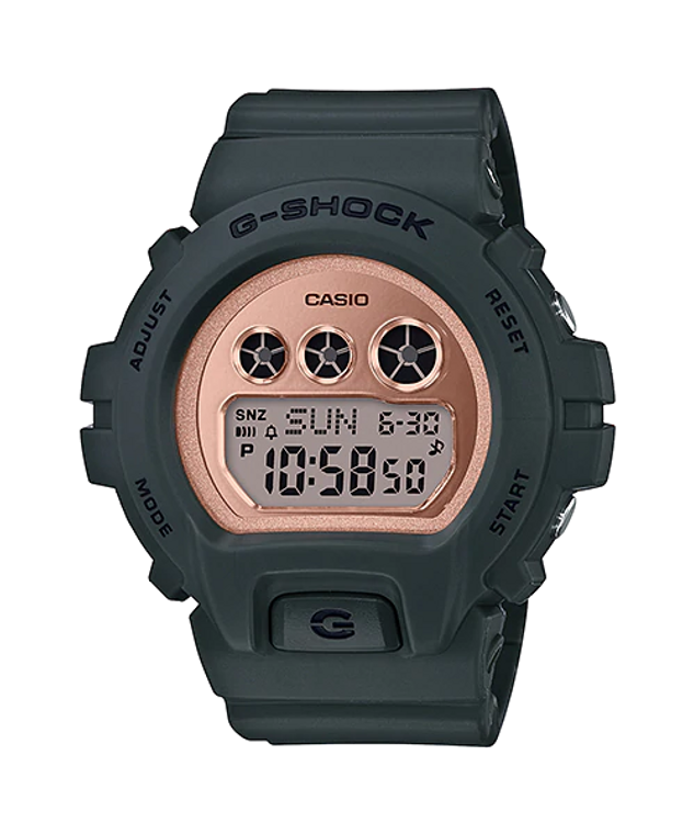 Casio G-Shock GMDS6900MC-3 S Series Pink Gold Face