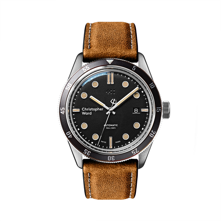 Christopher Ward C65 Trident Automatic Black Bezel // Pre-Owned