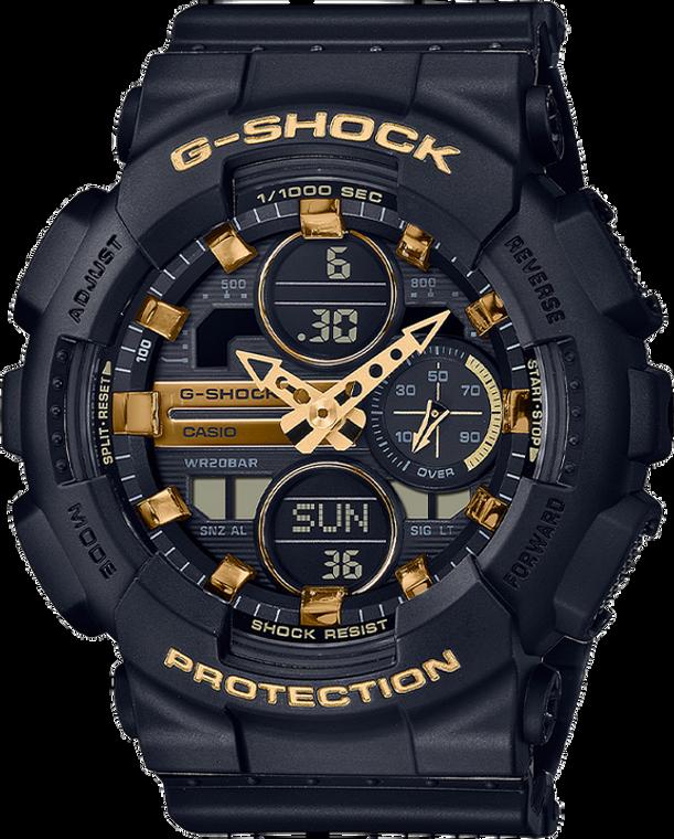 Casio G-Shock GMAS140M-1A Compact Gold Tone Ladies