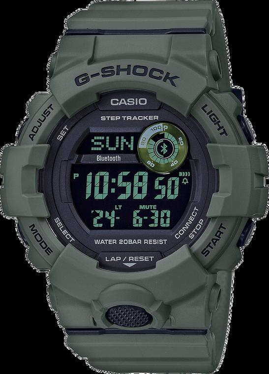 Casio G-Shock GBD800UC-3 Power Trainer Green