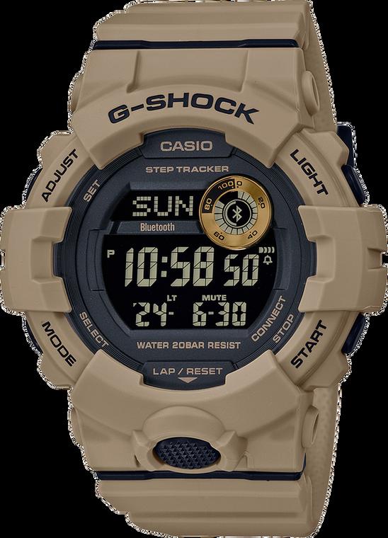 Casio G-Shock GBD800UC-5 Power Trainer Sand Tone