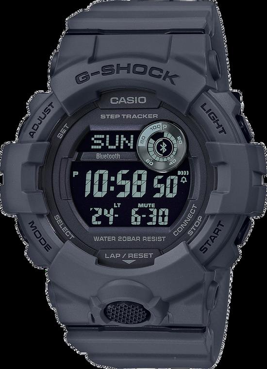 Casio G-Shock GBD800UC-8 Power Trainer Gray Tone
