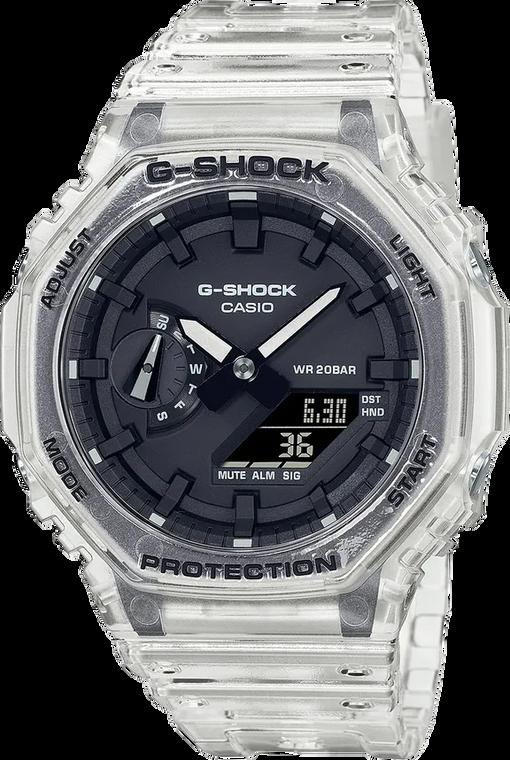 Casio G-Shock GA2100SKE-7A Transparent Pack Casioak
