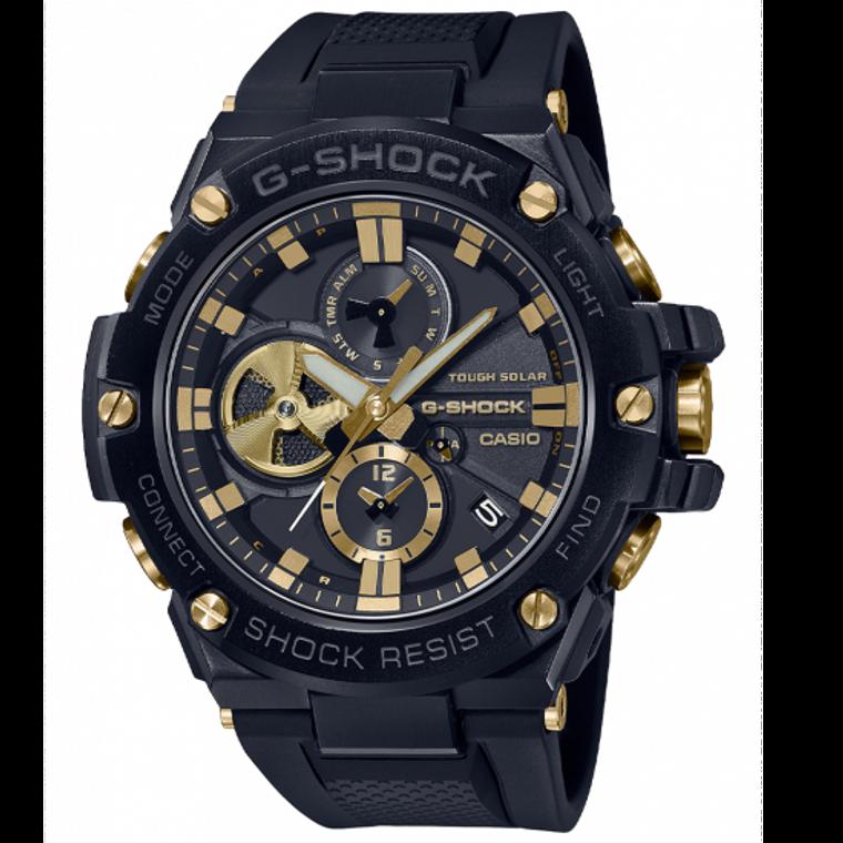 Casio G-Shock GSTB100GC-1A G-Steel Gold Luxury Military