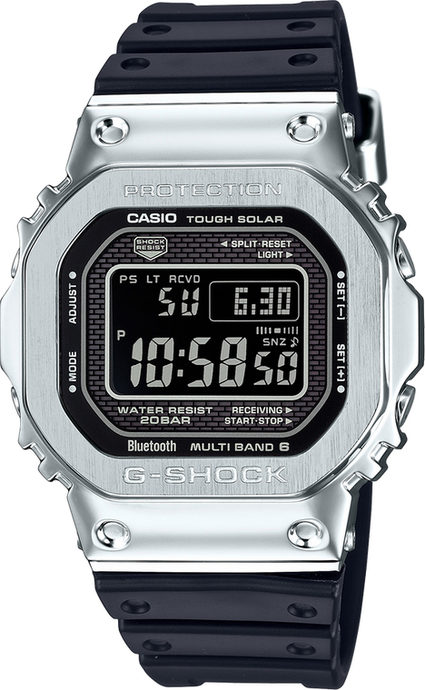 Casio G-Shock GMWB5000-1 Stainless Full Metal 5000 Series // Pre-Owned