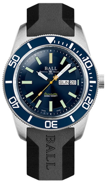 Ball DM3308A-P1C-BE Engineer Master II Skindiver Heritage Rubber Strap