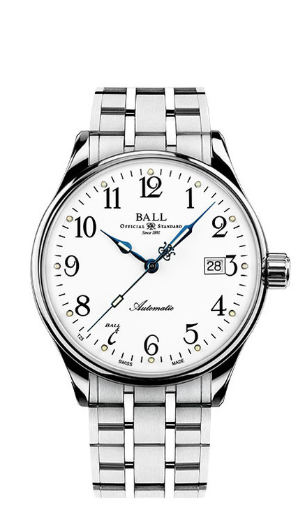 Ball NM3288D-SJ-WH Trainmaster Standard Time 135th Anniversary