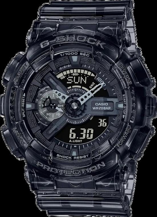 Casio G-Shock GA110SKE-8A Transparent Pack Ana-Digi Speed Indicator