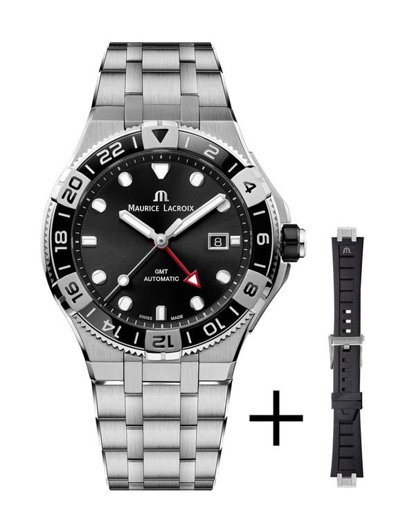 Maurice Lacroix AI6158-SS00F-330-A Aikon Venturer GMT 43mm