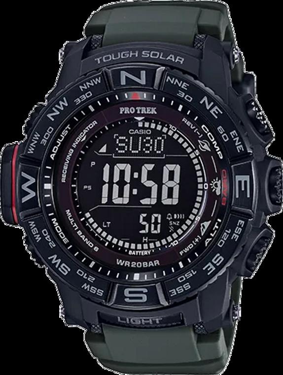 Casio Pro Trek PRW3510Y-8 Tough Solar Multi-Field Watch // Pre-Owned