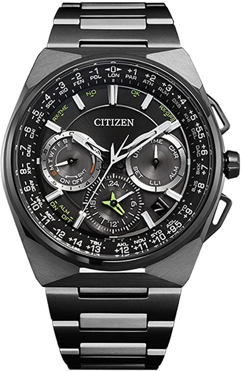 Citizen Eco-Drive CC9025-51E Satellite Wave F900 Titanium GPS Solar // Pre-Owned