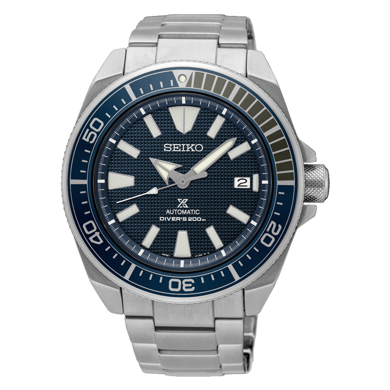 Seiko Prospex SRPB49 Samurai Stainless Steel Automatic on Rubber Strap // Pre-Owned