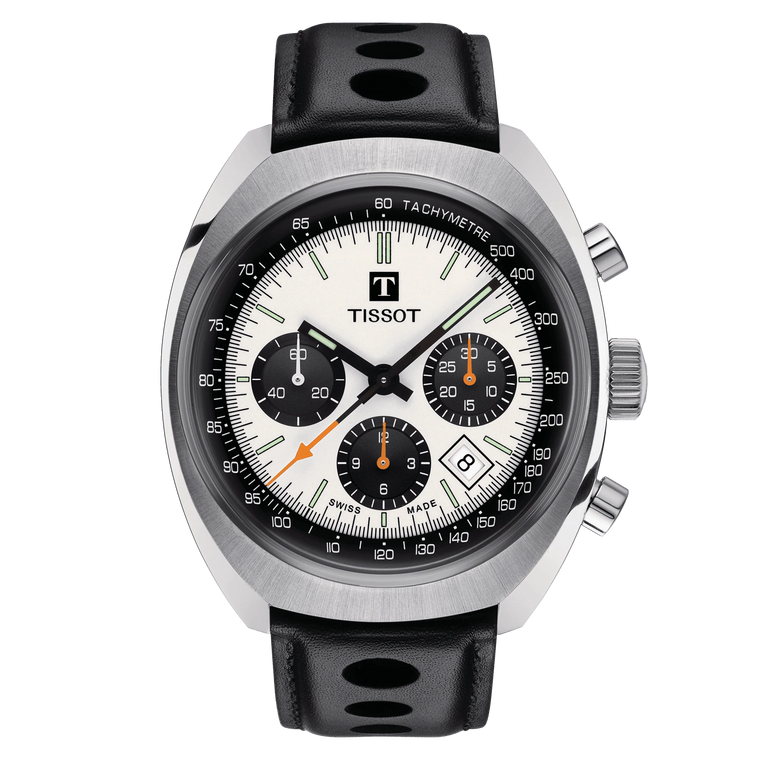 Tissot T124.427.16.031.00 Heritage 1973 Chronograph Racer // Pre-Owned