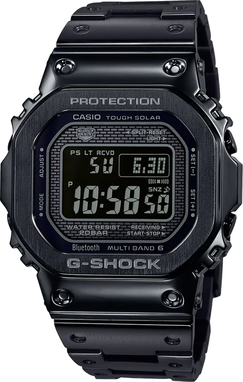 Casio G-Shock GMWB5000GD-1 Full Metal Black // Pre-Owned