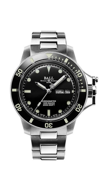 Ball DM2118B-SCJ-BK Engineer Hydrocarbon Original 40mm Black