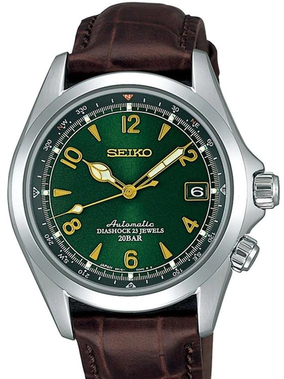 Seiko SARB017 Prospex Alpinist Green Dial w/ Additional NATO Strap // Pre-Owned