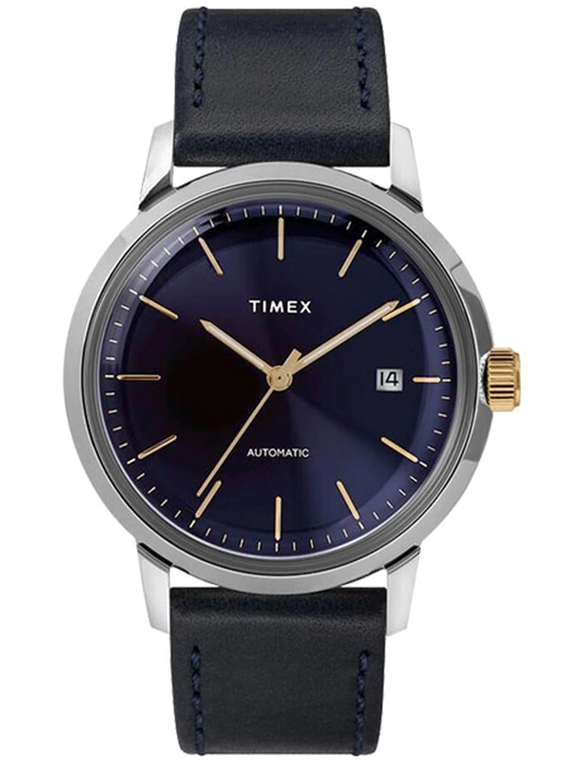 Timex TW2T23100ZV Marlin Navy Blue Automatic // Pre-Owned