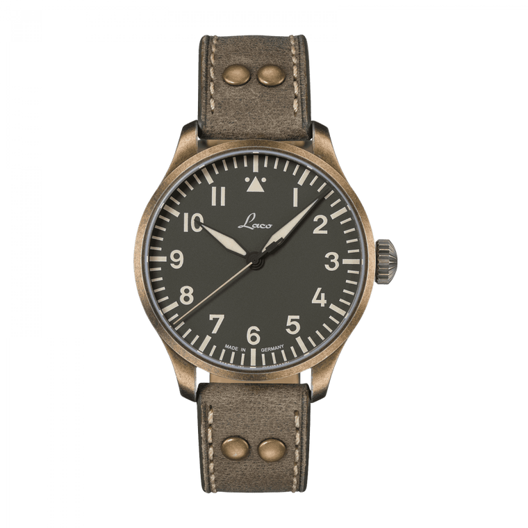 Laco 862127 Augsburg Oliv 42 Limited Edition Automatic Flieger