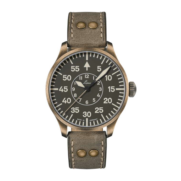 Laco 862128 Aachen Oliv 42 Limited Edition Automatic Flieger