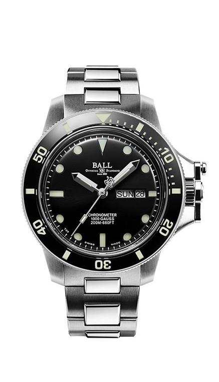 Ball DM2218B-SCJ-BK Engineer Hyrdocarbon Chronometer Original 43mm Black
