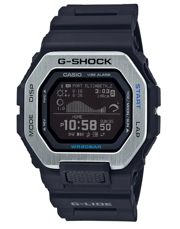 Casio G-Shock GBX100-1 G-LIDE Tidegraph // Pre-Owned