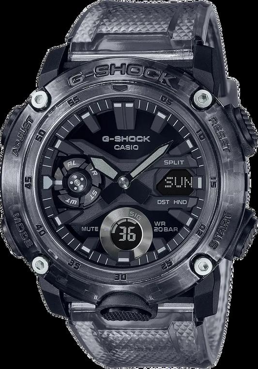 Casio G-Shock GA2000SKE-8A Transparent Pack Carbon Case