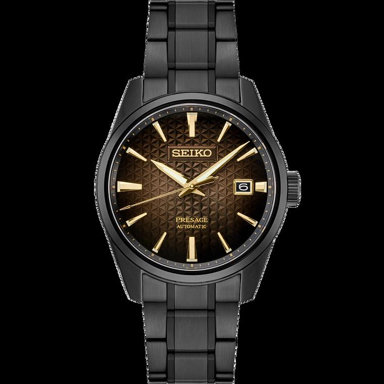 Seiko Presage SPB205 Sharp Edge Black Limited Edition