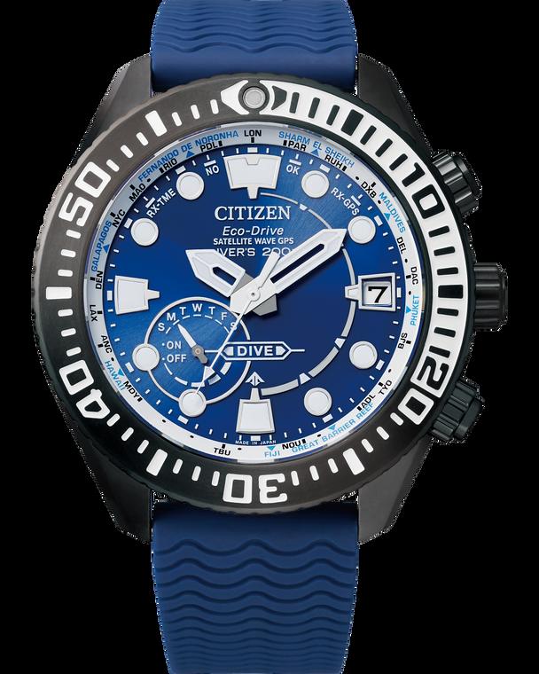 Citizen CC5006-06L Satellite Wave GPS Diver 200m Blue