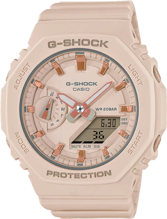 G-Shock GMAS2100-4A Ladies Limited Edition CasiOak Pink