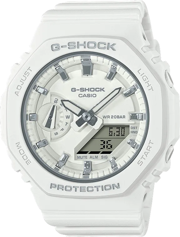 G-Shock GMAS2100-7A Ladies Limited Edition CasiOak White