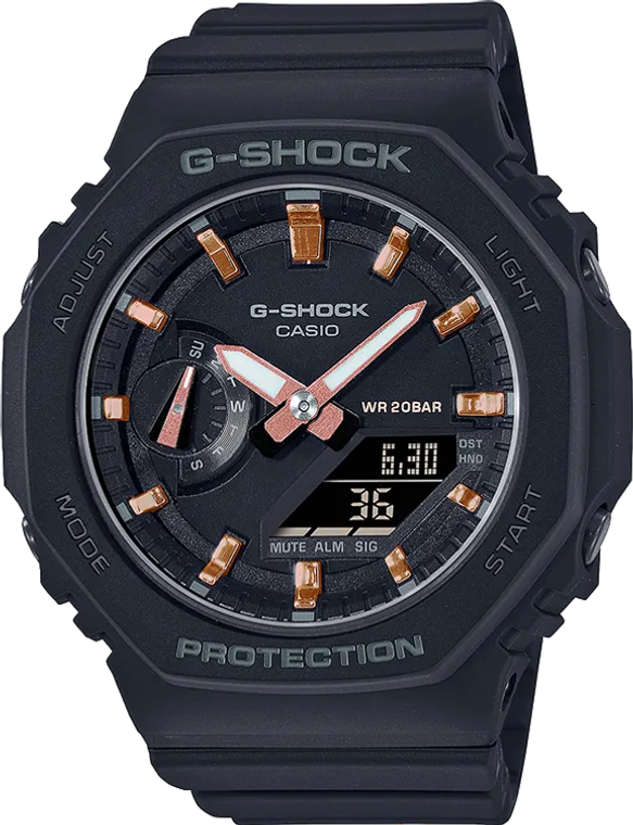 G-Shock GMAS2100-1A Ladies Limited Edition CasiOak Black
