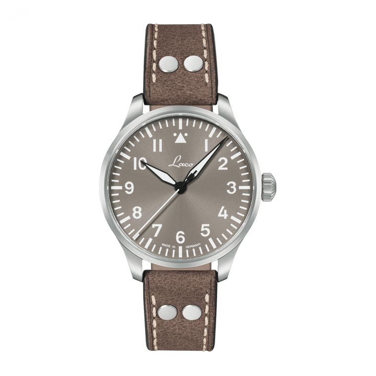 Laco 862125 Augsburg Taupe 39mm Flieger