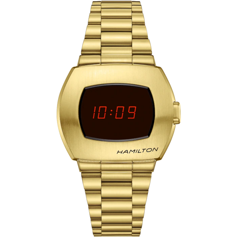 Hamilton H52424130 Pulsar American Classic Limited Edition Gold // Pre-Owned