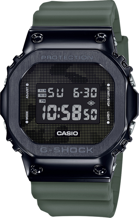 G-Shock GM5600B-3 Camo Square // Pre-Owned