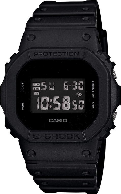 G-Shock DW5600BB-1 Black Square // Pre-Owned