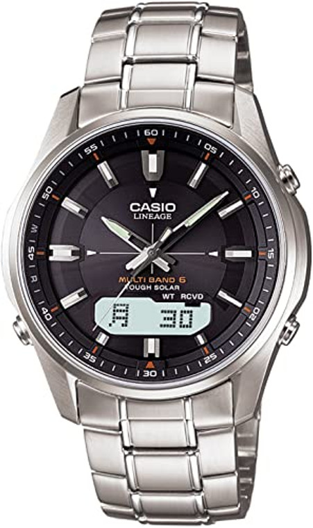 Casio LCW-M100D-1A Lineage Solar Multi-Band // Pre-Owned