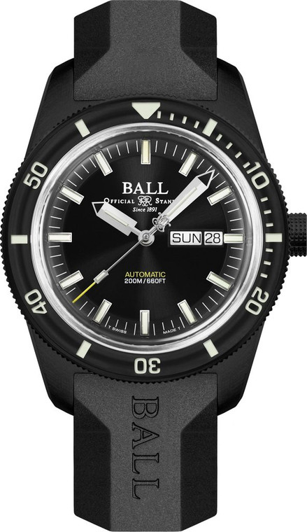 Ball DM3208B-P4-BK Engineer II Skin Diver Heritage Limited Edition Black
