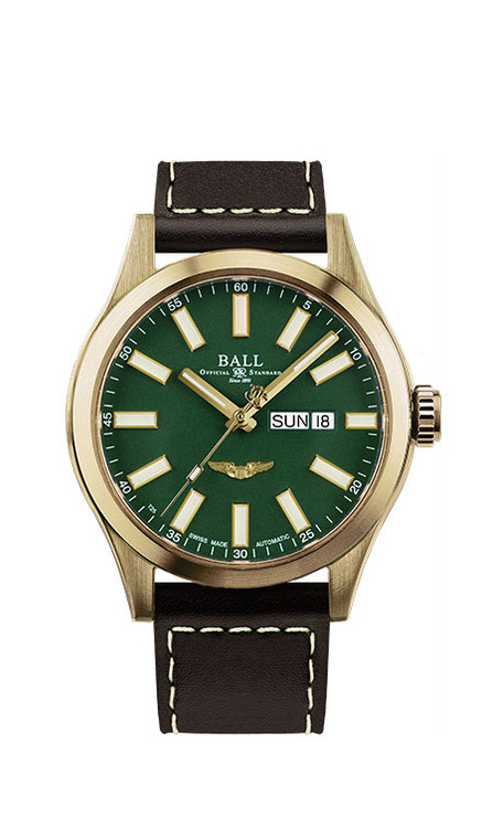 Ball NM2186C-L4J-GR Engineer III Marvelight Bronze Star Green
