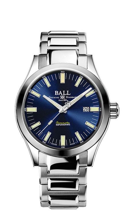 Ball NM2128C-S1C-BE Engineer M Marvelight 43mm Chronometer Blue Dial