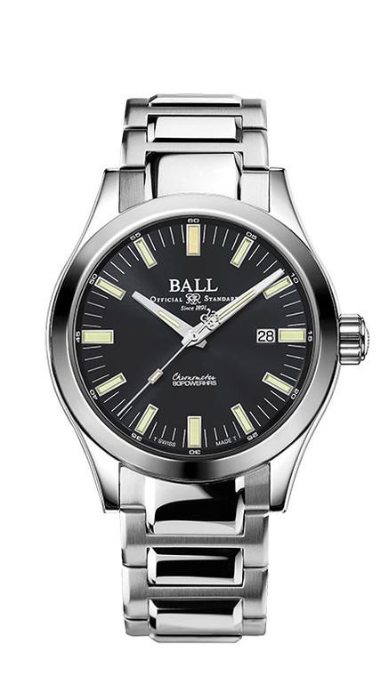 Ball NM2128C-S1C-GY Engineer M Marvelight 43mm Chronometer Grey Dial